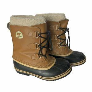 SOREL Yoot PAC Classic Tan Rubber Sole Boot